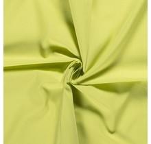 Popeline Stoff Uni lindgrün 144 cm breit