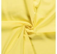 Popeline Stoff Uni gelb 144 cm breit