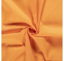Popeline Stoff Uni orange 144 cm breit