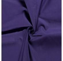 Popeline Stoff Uni aubergine 144 cm breit