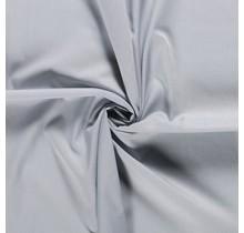 Popeline Stoff Uni hellgrau 144 cm breit