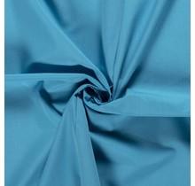 Popeline Stoff Uni aquablau 144 cm breit
