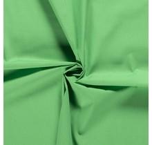 Popeline Stoff Uni grün 144 cm breit