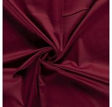 Baumwollsatin Stretch Premium bordeauxrot 145 cm breit