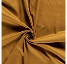 Baumwollsatin Stretch Premium ockergelb 145 cm breit