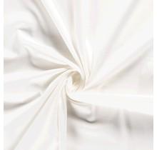 Baumwollsatin Stretch Premium wollweiss 145 cm breit