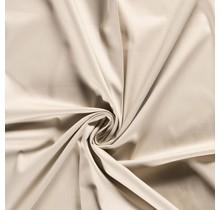 Baumwollsatin Stretch Premium beige 145 cm breit