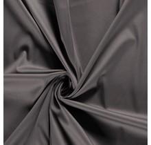 Baumwollsatin Stretch Premium taupe grau 145 cm breit