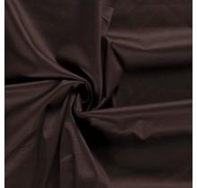 Baumwollsatin Stretch Premium dunkelbraun 145 cm breit
