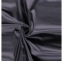 Baumwollsatin Stretch Premium dunkelgrau 145 cm breit