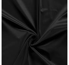 Baumwollsatin Stretch Premium schwarz 145 cm breit
