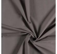Baumwoll Voile taupe braun 140 cm breit