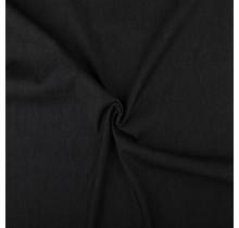 Jeansstof premium voorgewaschen schwarz 140 cm breit
