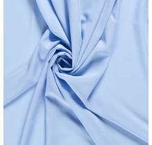 Krepp Georgette Uni babyblau 145 cm breit