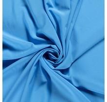 Krepp Georgette Uni aquablau 145 cm breit