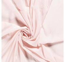 Krepp Georgette Uni hellrosa 145 cm breit