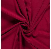 Krepp Georgette Uni bordeauxrot 145 cm breit