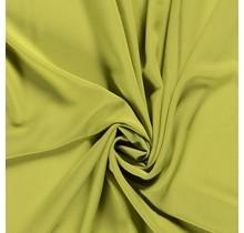 Krepp Georgette Uni oliv 145 cm breit