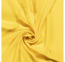 Krepp Georgette Uni gelb 145 cm breit