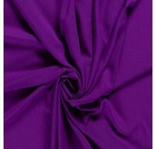 Krepp Georgette Uni aubergine 145 cm breit