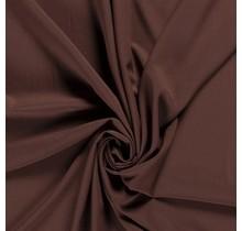 Krepp Georgette Uni braun 145 cm breit