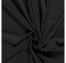 Krepp Georgette Uni schwarz 145 cm breit