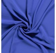Krepp Georgette Uni königsblau 145 cm breit