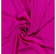 Krepp Georgette Uni magenta 145 cm breit