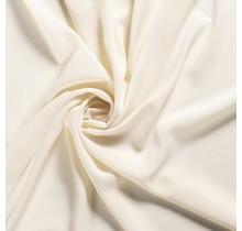 Krepp Georgette Uni wollweiss 145 cm breit