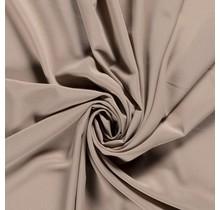Krepp Georgette Uni beige 145 cm breit