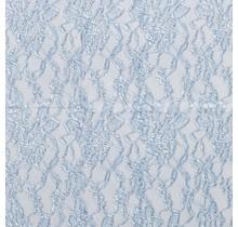 Spitzenstoff deluxe babyblau 150 cm breit
