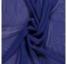 Chiffon königsblau 140 cm breit