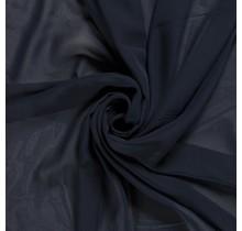 Chiffon navy 140 cm breit