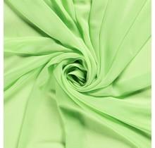 Chiffon lindgrün 140 cm breit