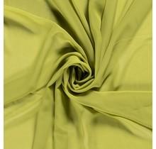 Chiffon oliv 140 cm breit