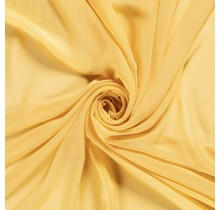 Chiffon gelb 140 cm breit