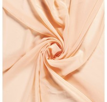 Chiffon lachsfarben 140 cm breit