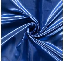 Brautsatin königsblau 147 cm breit