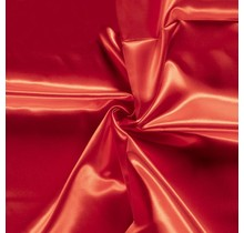 Brautsatin rot 147 cm breit