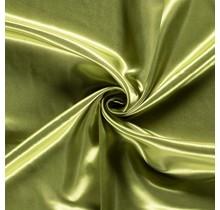 Brautsatin oliv 147 cm breit
