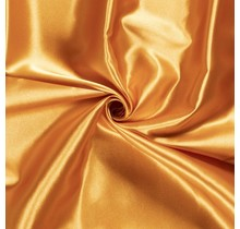 Brautsatin orange 147 cm breit