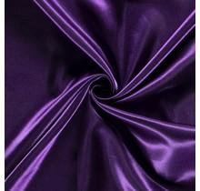 Brautsatin lila 147 cm breit