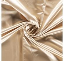 Brautsatin beige 147 cm breit