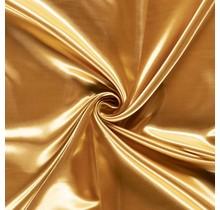 Brautsatin gold 147 cm breit