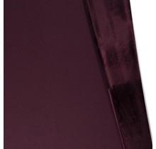 Alpenfleece Sweat uni weinrot 150 cm breit