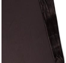 Alpenfleece Sweat uni dunkelbraun 150 cm breit
