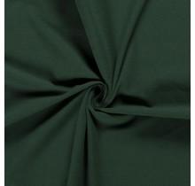Baumwolljersey dunkelgrün 160 cm breit