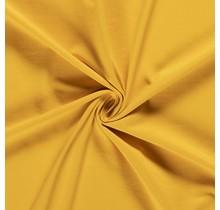 Baumwolljersey gelb 160 cm breit