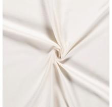 Baumwolljersey wollweiss 160 cm breit