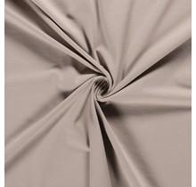 Baumwolljersey beige 160 cm breit
